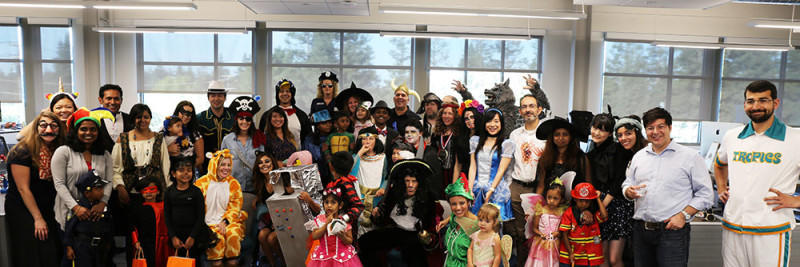 Gyft Halloween Party Group Photo