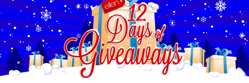 Gyft on Ellen 12 Days of Giveaways